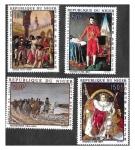 Sellos de Africa - Níger -  C100-C103 Napoleón Bonaparte (1769-1821)