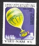 Sellos del Mundo : Asia : Vietnam : Globos Aerostáticos, Hydrogen balloon (1784)