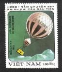 Stamps Asia - Vietnam -  Globos Aerostáticos, Air balloon