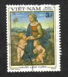 Stamps Asia - Vietnam -  500 aniversario del nacimiento de Rafael (1483-1520) (artista),