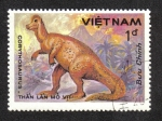 Stamps Asia - Vietnam -  Fauna Prehistórica, Corythosaurus