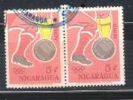 Stamps America - Nicaragua -  futbol