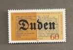 Sellos de Europa - Alemania -  Diccionario Duden