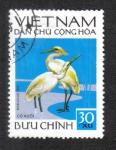 Sellos del Mundo : Asia : Vietnam : Pájaros, Garcilla De Ganado (Bubulcus ibis)