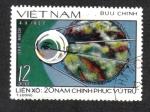 Sellos del Mundo : Asia : Vietnam : 20 años de exploración espacial, Sputnik