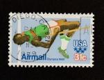 Stamps United States -  Olimpiadas 1980
