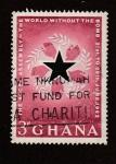 Stamps Ghana -  Asamblea en Accra por un mundo sin bombas