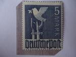 Stamps : Europe : Germany :  Alemania, Ocupación Aliada 1945/49-Serie:Zona Americana,Británica y Soviética-Paloma de la Paz.