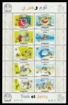 Stamps Morocco -  Tom y Jerry
