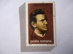 Stamps : Europe : Romania :  Ciprian Porumbescu (1853-1883) Mísico y Compositor Rumano.