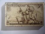 Stamps : Oceania : New_Zealand :  Scuthland Centennial 1856-1956 - Agricultura