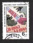 Stamps Poland -  Consejo Popular, 40° aniversario.