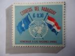 Stamps : America : Paraguay :  Homenaje a las Naciones Unidas - 15 Aniversario - Serie: UN-Unión de Naciones.