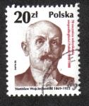 Sellos de Europa - Polonia -  70 aniversario de la República independiente, Stanislaw Wojciechowski
