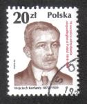 Sellos del Mundo : Europa : Polonia :  70 aniversario de la República independiente, Wojciech Korfanty