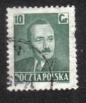 de Europa - Polonia -  Boleslaw Bierut (1892-1956), President