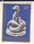 Stamps Romania -  Artesanía-serpiente Glykon