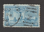 Stamps United States -  Entrega urgente