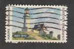 Stamps United States -  150 Anuv. de la adhesión de Maine como estado