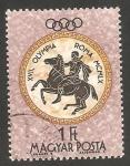 Sellos de Europa - Hungría -  1385 - Olimpiadas de Roma, jinete
