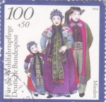 Stamps Germany -  TRAJES TIPICOS