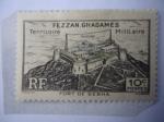 Sellos de Europa - Francia -  Francia,Colonias y Territorios- Fort de Sebha- Serie: Fezzan-(Fortaleza de  Sebha - Ghadames.