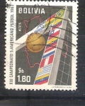 Sellos de America - Bolivia -  RESERVADO XXI campeonato sudamericano de fútbol