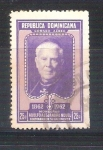 Stamps Dominican Republic -  RESERVADO adolfo alejandro novel