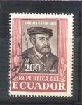Sellos de America - Ecuador -  RESERVADO Carlos V