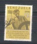 Sellos de America - Venezuela -  RESERVADO Conferencia Internacional del Trabajo