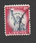 Stamps America - United States -  Estatua de la libertad