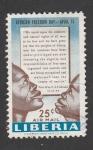 Stamps Africa - Liberia -  Dia de la libertad para Africa 15 Abril