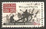 Stamps United States -  761 - Centº de la Guerra Civil, Batalla del Desierto