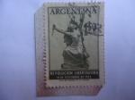 Stamps : America : Argentina :  Revolución Libertadora.16 de Sep.de 1955 - Argentina Rompiendo Cadenas.