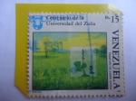 Stamps : America : Venezuela :  Centenario de la Universidad del Zulia - Desarrollo de Suelos Ácidos.
