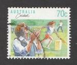 Stamps Australia -  Jugando al cricket