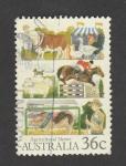 Stamps Australia -  Exposiciones agrícolas