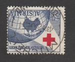 Sellos de Oceania - Australia -  Cruz roja australiana