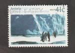 Stamps Australia -  Cooperación científica xon la URSS en la Antartida