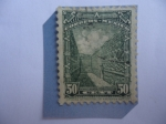 Stamps : America : Mexico :  Ruinas de Mitla(Lugar de los Muertos)-Lyobáa-(Oaxaca)-Cultura Zapoteca-Mixteca -