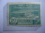 Stamps : America : Uruguay :  Presa de Río Negro - Represa de Energía en el Río Negro.