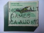 Stamps : America : Jamaica :  Doctor Bird (Trichilus polytmus)- Colibrí Cola Acanelada de Pico Rojo -Nacional Bird.