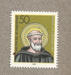Sellos de Europa - Alemania -  Benedikt von Nursia