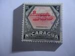 Stamps : America : Nicaragua :  Hangares F.A.N - Homenaje a la Fuerza Aérea Nacional.