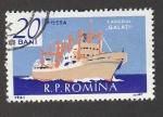 Stamps Romania -  Carguero Galati