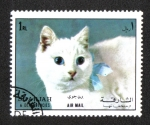 Sellos del Mundo : Asia : Emiratos_Árabes_Unidos : Gato (Felis silvestris catus), Sharjar
