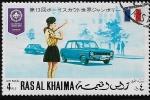 Stamps : Asia : United_Arab_Emirates :  13 Jamboree Internacional