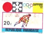 Sellos de Africa - Rwanda -  OLIMPIADA SAPPORO'72