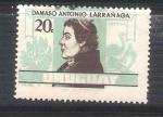 Sellos del Mundo : America : Uruguay : RESERVADO Damaso Antonio Larrañaga