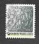 Stamps South Korea -  1269 - Bajorrelieve de Ladrillos